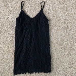 Urban Outfitters Black Lace Dress Size Small